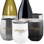Custom WINE SS 11 oz Doublewall Wine SS Cup No Lid