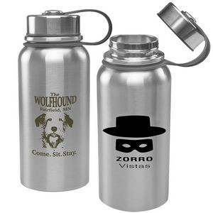 27 Oz. Zorro Double Wall Vacuum Insulated Bottle