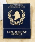 Custom Stock Color 20 Strike Match Book (Black on 5 Assorted Colors)