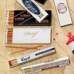 Custom 16 Count Custom Cigar Match Box with 4