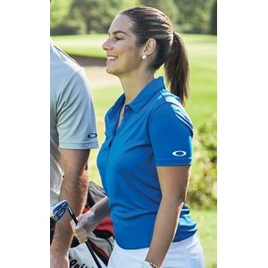 Crestible Women's Solid Golf Polo Shirt
