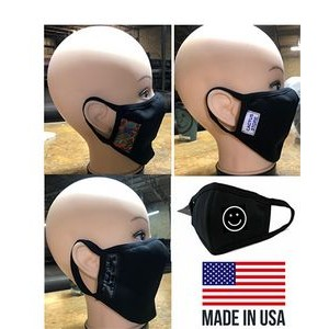 ***MADE IN USA*** 4-Layer Cotton Spandex Mask