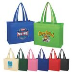 Custom Medium Economy Non-Woven Tote Bag