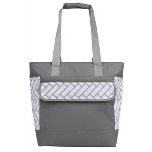 Double Compartment Cooler Tote