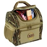 Custom Ultimate Realtree MAX-5 Camo Lunch 16 Can Cooler