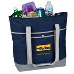 Custom Jumbo 24 Can Can Cooler Tote Bag
