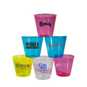 1 Oz. Disposable Plastic Shot Glass - Imprinted