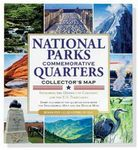 Custom National Parks Commemorative Quarters Collector's Map