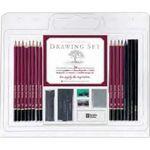 Custom Studio Series 25-Piece Drawing Set (Pencil, Pencil Sharpener and Eraser)