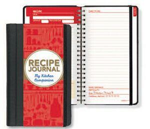 Recipe Journal My Kitchen Companion