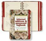 Custom Old World Personal Internet Address & Password Logbook