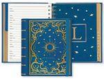 Custom Celestial Large Address Book