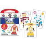 Custom Robots Stencil Kits