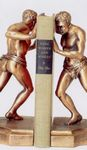 Custom Two Men Bookends