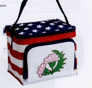 Stars & Stripes 6-Can Cooler/Lunch Box