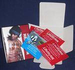Custom Large Full Color Paper Box w/Zignature Condom & Lube Inserted (Inside & Outside)