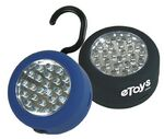 Custom Round LED Work Light