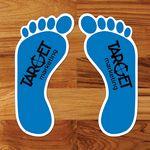 Custom Krystex FloorPoint Clear Smooth Floor Graphic-Footprint