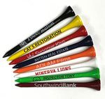 Custom Golf Tees w/1 Color Imprint (3 1/4
