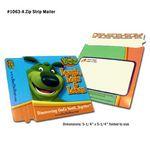 Custom CD-DVD Single Pocket Zip Mailer 5-1/4