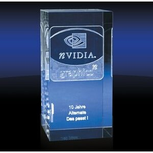 Pillar Slim Rectangular Award - Xtra Large