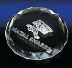 Custom Round Shaped Paperweight