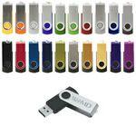 Custom Parma Swivel USB Flash Drive (2 GB)