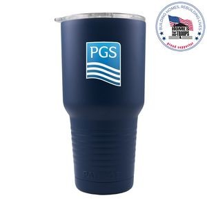 Patriot 30oz Navy Blue Tumbler