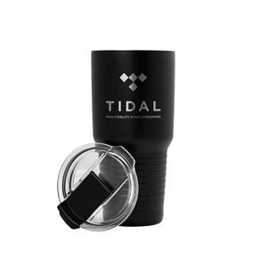 Patriot 20oz Black Tumbler