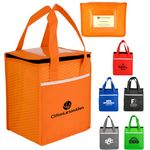 Custom Rectangle Wave Lunch Tote Bag (Factory Direct)