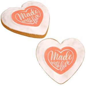 Full Color Heart Cookie