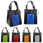 Custom Zippered Cooler Tote Bag (Blank)