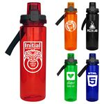 Custom Locking Lid 24 oz. Colorful Bottle with Chiller