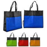 Custom Bottle Holder Shopping Tote Bag (Blank)