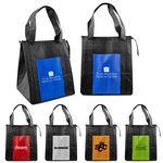Custom Zippered Cooler Tote Bag