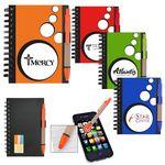 Custom Mini Spotlight Notebook & Stylus/ Pen with Sticky Notes