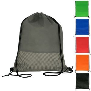 Wave Drawstring Backpack (Blank)