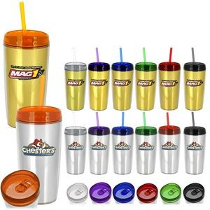 Full Color Metallic Tumbler