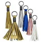 Custom Tassel 2-in-1 Cable Keyring