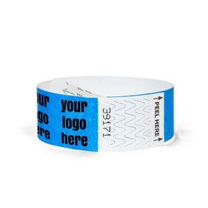 "1"" Tyvek® Tab-Free Custom Wristbands"