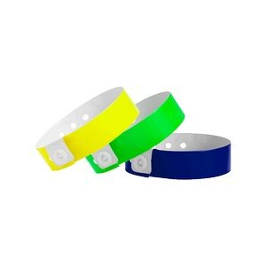 Vinyl Narrow In-Stock Solid Color Wristbands