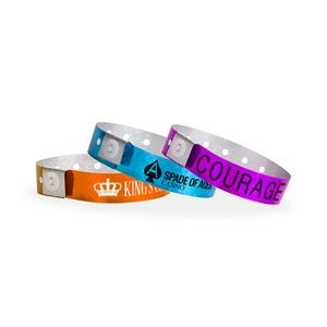 Plastic Holographic Custom Wristbands