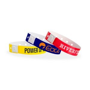 Plastic Regular Custom Wristbands