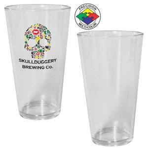 16 Oz. Clear Acrylic Pint Mixing Glass (Screen Printed)