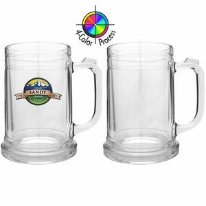 16 Oz. Beer Stein Tankard (4 Color Process)