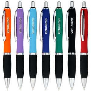 Vitoria Touch Rubber Metal Pen
