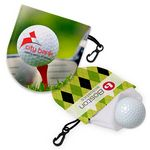 Custom Leatherette Golf Ball Cleaner