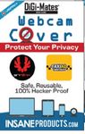 Custom Digi-Mates Webcam Cover (Combo Pack, Square & Round)