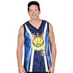 Custom Basketball Jersey, V Neck Microcell