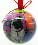 Custom 4-Color Process Fully Wrapped Custom Shatterproof Ornament (3